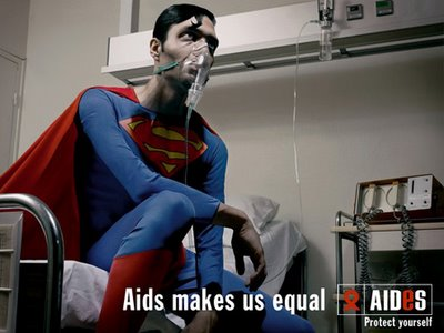 Aids Superman