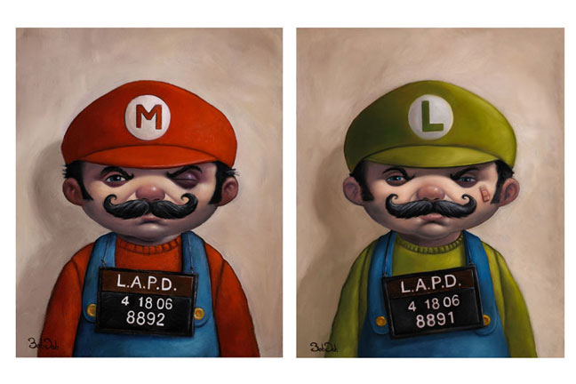 Mario e Luigi Criminosos