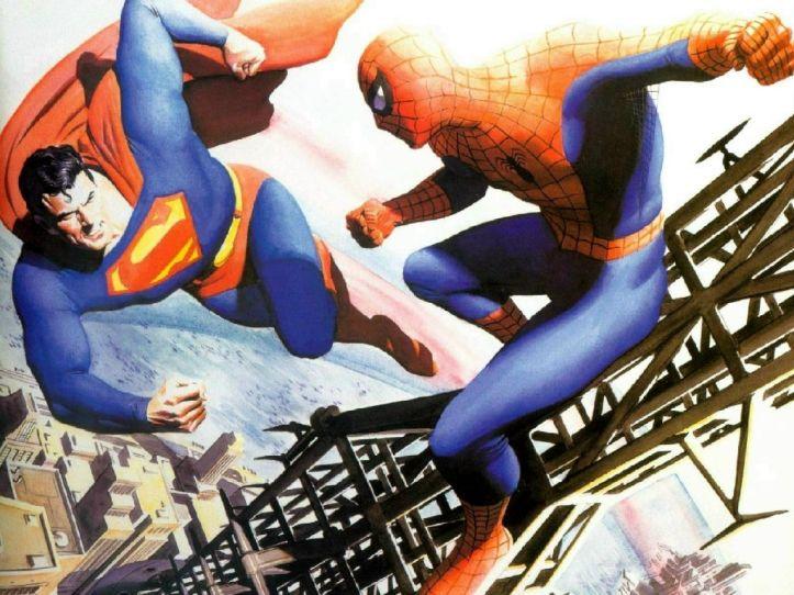Superman e Homem-Aranha