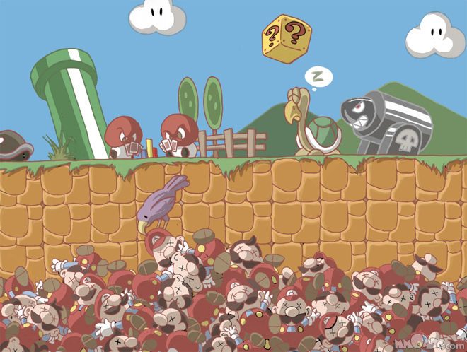 Super Mario Death Pit