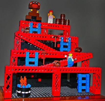 Donkey Kong Arcade Lego