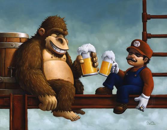 Donkey Kong & Mario Anime