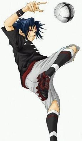 Pedala Sasuke! Fazendo embaixadinhas enquanto derrota os protagonist e coadjuvantes. Dale KNJ! :)