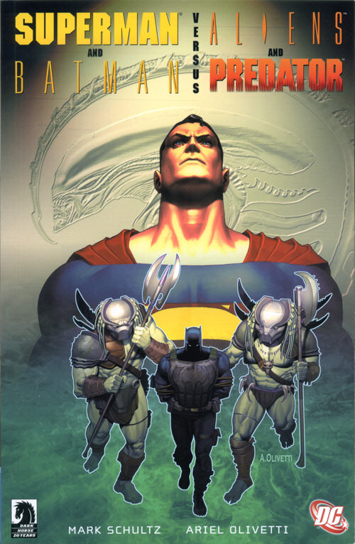 Superman e Batman Vs. Alien e Predador