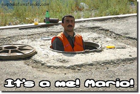 Sou eu, Mario!