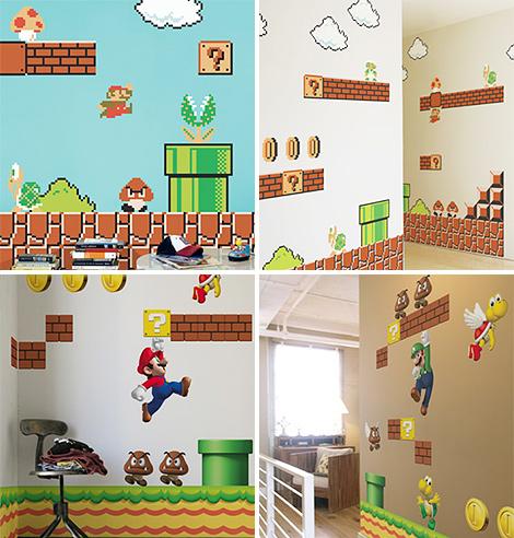 Super Mario - Parede da Evolução