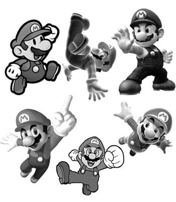 Super Mario - Evolução