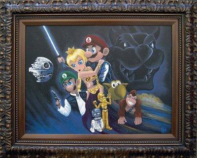 Super Mario Star Wars 2