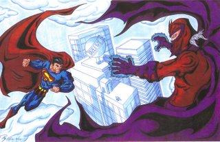 Superman vs Magneto