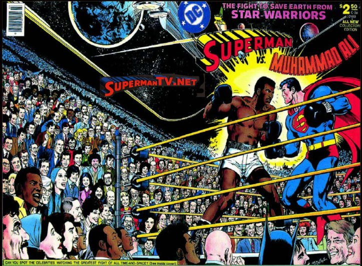 Superman Vs. Muhammad Ali - A Revanche