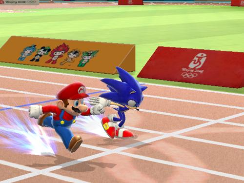 Mario Vs. Sonic - Corrida Sem Limites