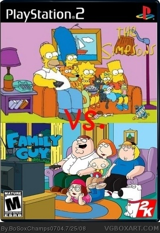 Simpson Vs. Family Guy