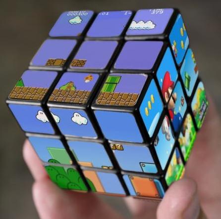 A Evolução dos Games III - Super Mario Mega Mind Puzzle