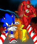 The Flash Vs. Sonic The HedgeHog