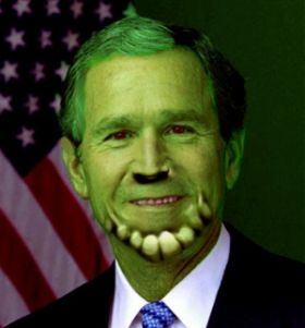 George Bush Skrull