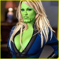 Pamela Anderson Skrull