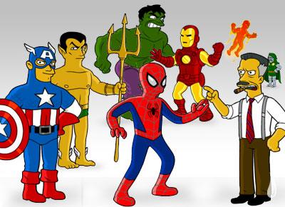 Marvel nos Simpsons