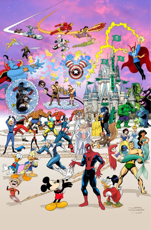 Disney Compra Marvel
