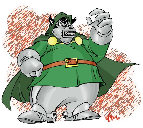 Dr. Doom Bafo de Onça