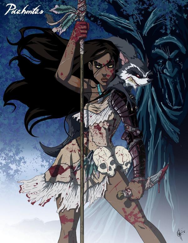 Pocahontas Terra Selvagem