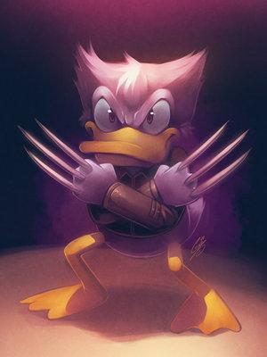 Duck Wolverine