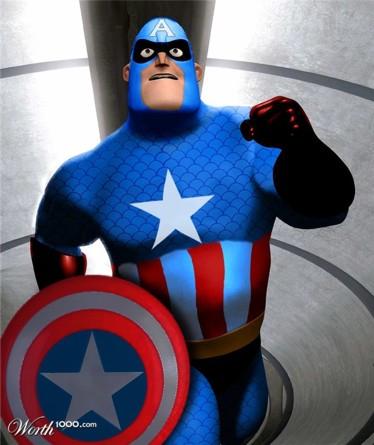 Sr. Incrível Capitão América