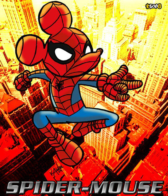 Spider-Man - Mickey Mouse