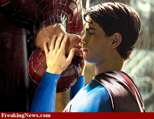Superman S2 Spiderman - Casal 3000 - My Parents Are Dead Too!