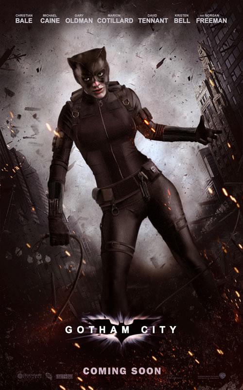 Batman 3 de Nolan - Primeiro Poster