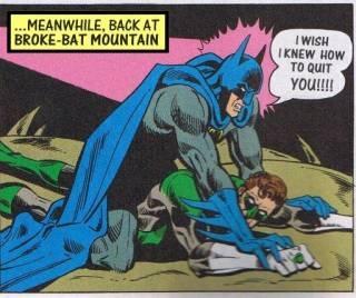 Batman Vs. Lanterna Verde - Violado pelo Morcego