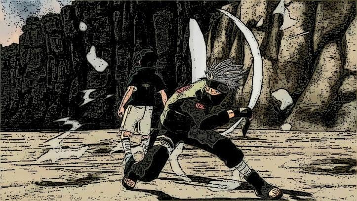 Kakashi VS. Sasuke