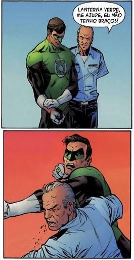 Lanterna Verde - Solidariedade - A Piedade do Herói Verde