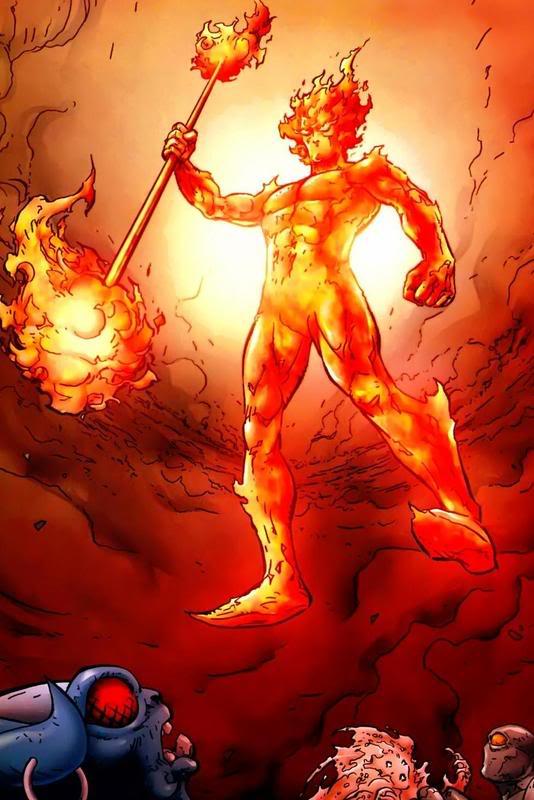 Senhor do Fogo - Arauto de Galactus