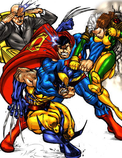 Superman Vs. X-Men