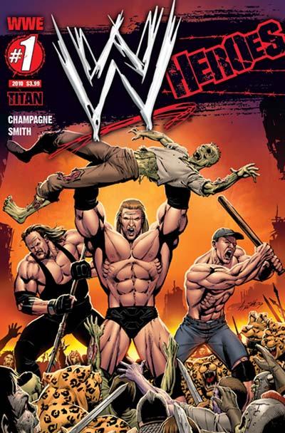 WWE Comics - WWE faz lançamentos de uma linha de comics com seus Superstars
