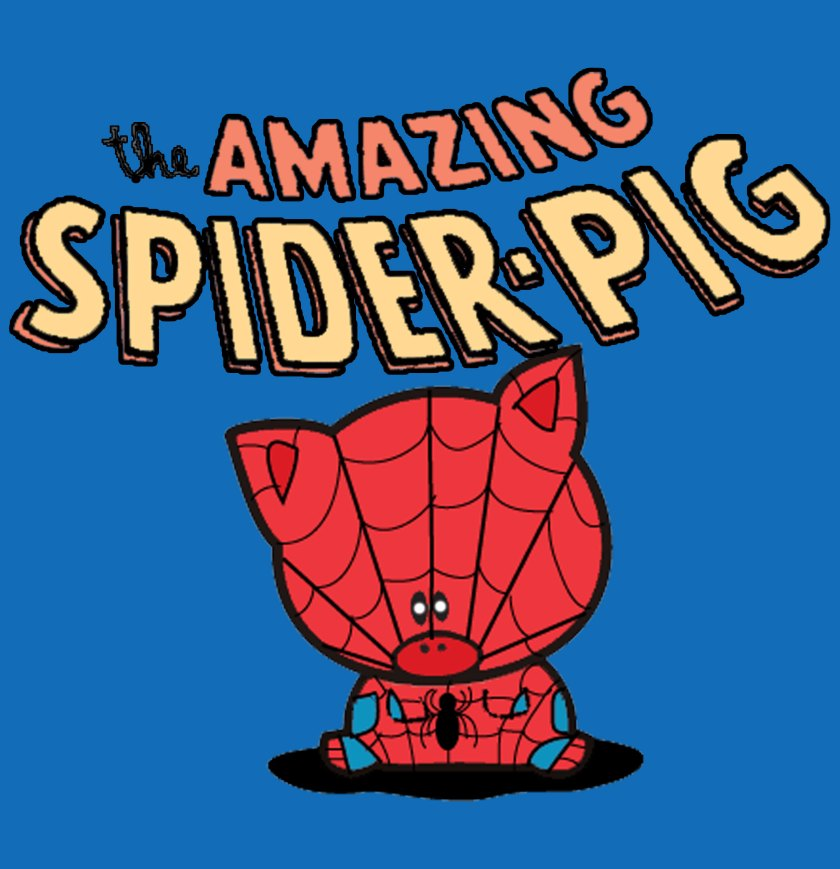 The Amazing Spider-Pig is Back Forever