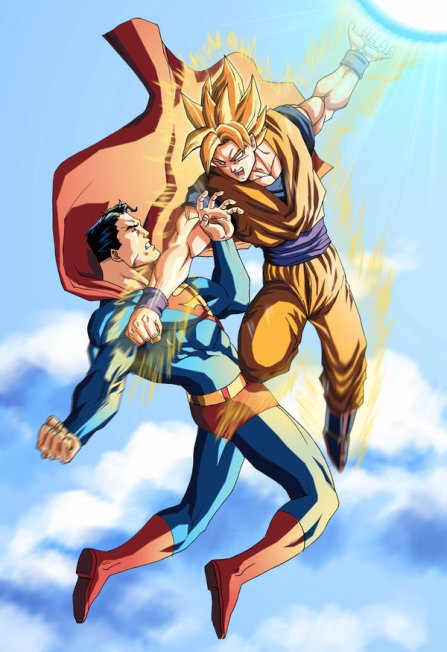 Superman Vs. Goku