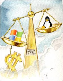 Windows Vs. Linux - Libra