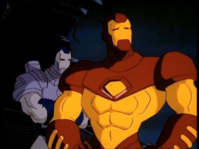 Homem de Ferro e War Machine anos 90
