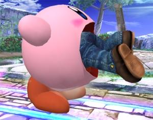 Kirby absorvendo Você