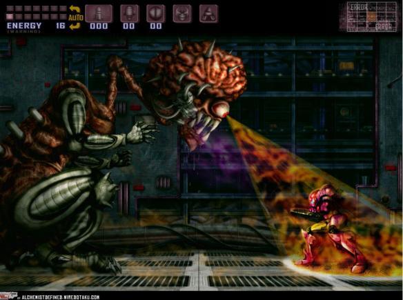 Super Metroid Vs. Samus Aran - The Final Battle