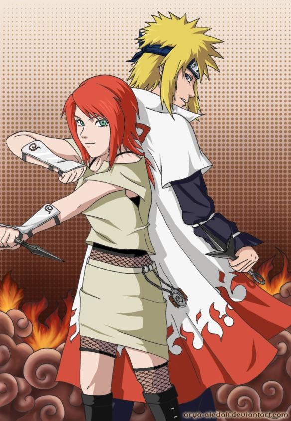 Minato e Kushina (Marido e Mulher)
