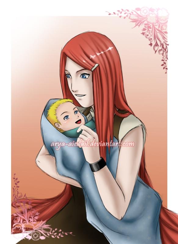 Kushina and Naruto (Mãe e filho)
