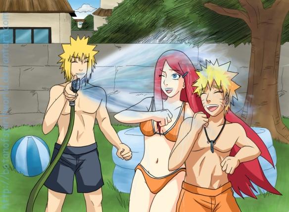 Naruto & Kushina & Minato - Nem tudo são flores