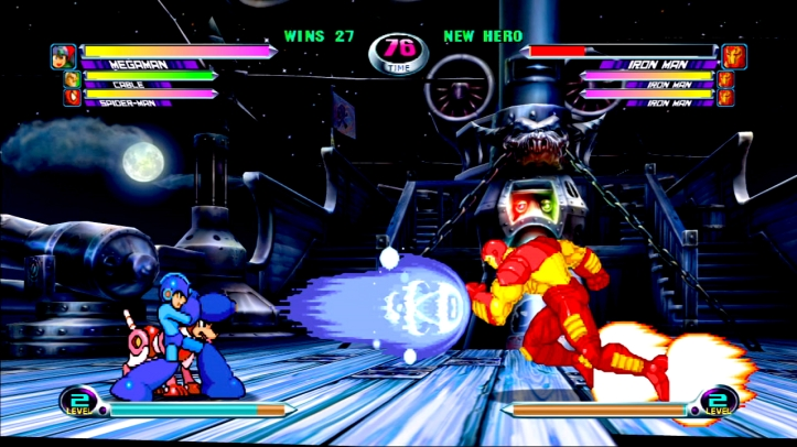Marvel Vs. Capcom - Megaman vs. Iron Man