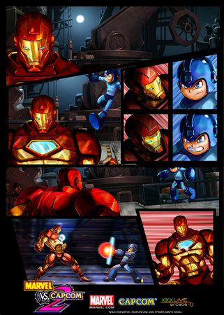Megaman Vs. Iron Man