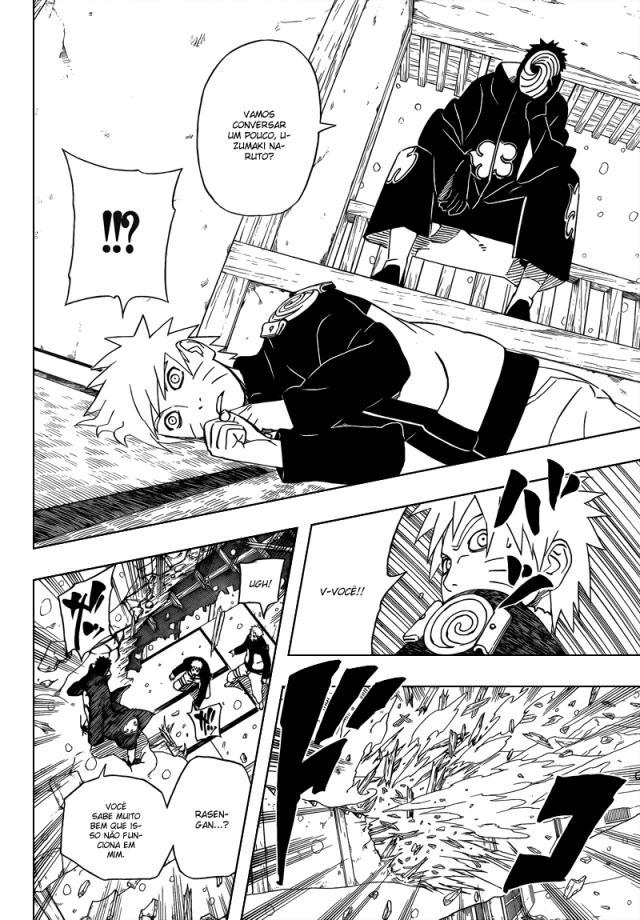 Naruto 460 - Naruto Vs. Tobi - Papinho