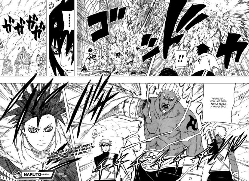 Naruto 460 - Uchiha Sasuke Vs. Raikage - Seu Cu não será Perdoado