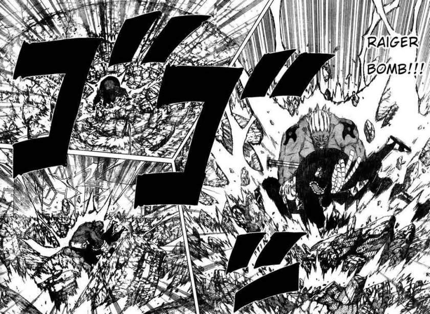 Naruto 463 - Raikage Bomb - Sasuke, seu cu não foi perdoado