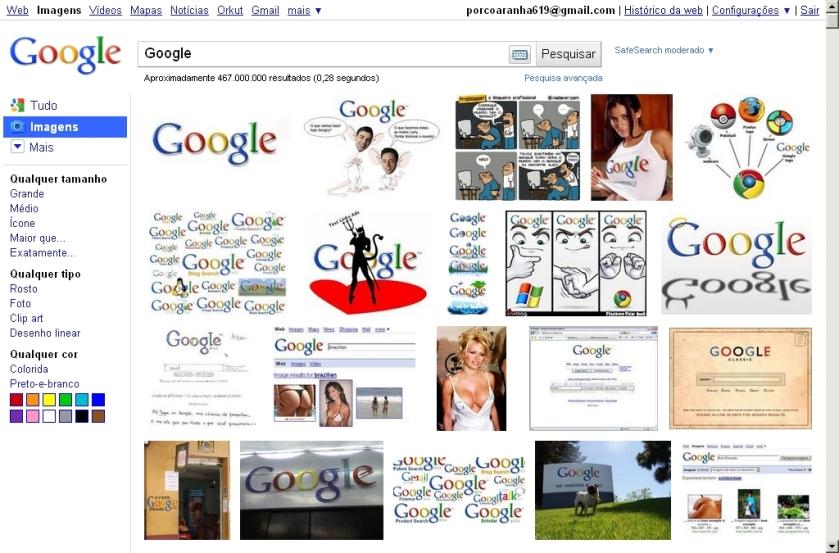 Novo Buscador de Imagens da Google